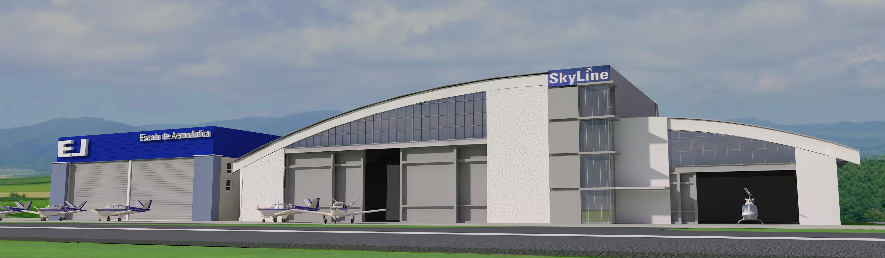 Hangar Skyline